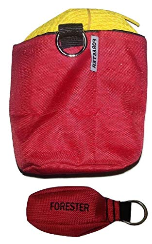 Forester 150 Foot Arborist 15 Ounce Throw Line Kit with Red Storage -