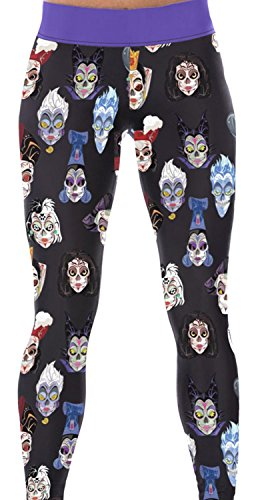 IF FEEL Coloful Skull Fashion Legging BlueItem 3D Digital Print Yoga Pants (One Size, as - Swimsuit Thermal Singapore