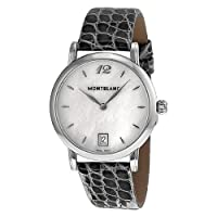 Montblanc Star Classique Lady Mother of Pearl Stainless Steel Ladies Watch 108766 by Montblanc