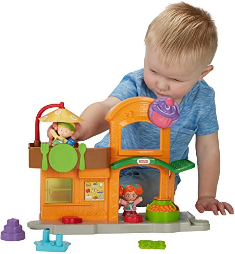 Fisher-Price Little People Manners Marketplace Playset (Fisher Price Town Center)