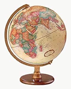 Replogle Globes Hastings Globe, 12-Inch, Antique English