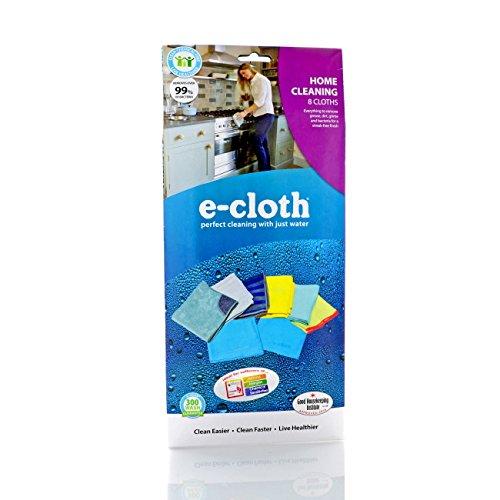 E-Cloth 8PK Home Cloths