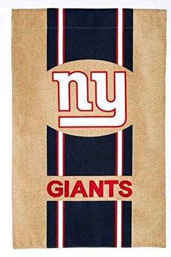 Team Sports America NFL New York Giants Burlap House Flag, 29