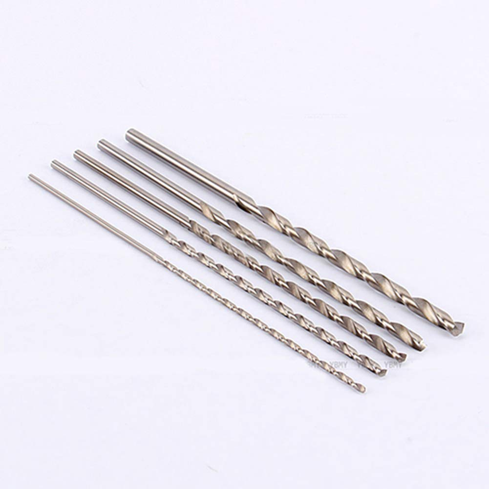 1Pc 2-5mm Extra Long 160mm HSS Twist Straigth Shank Auger Drill Bit Power Tool for Repair 3.5mm