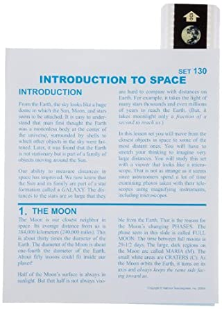 American Educational Microslide Introduction To Space