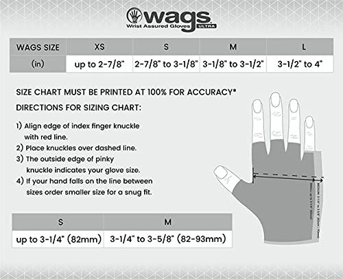 WAGs Ultra Gloves Pink Small