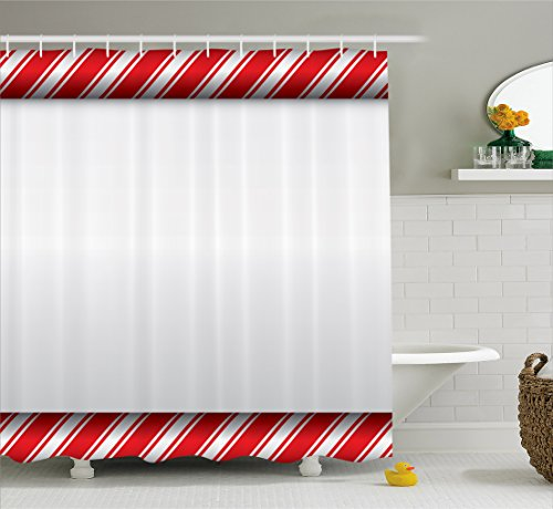 Candy Cane Shower Curtain Sweetie