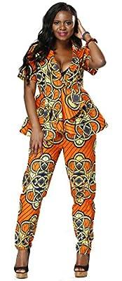 Shenbolen Batik Print Women's Cotton Short Sleeve Pants Set