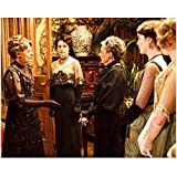 Downton Abbey Maggie Smith as Violet Crawley, Dowager Countess of Grantham with Women 8 x 10 Inch Photo