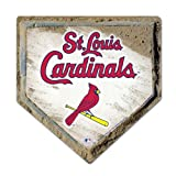 MLB St Louis Cardinals Home Plate Design Mouse Pad
