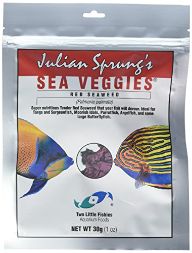 Two Little Fishies ATLSVRS4 Sea Veg-Red Seaweed, 1-Ounce Pouch (Purple Seaweed)