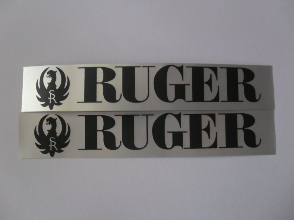 "RUGER Made in the USA 4"" x 4"" Sticker Decal"