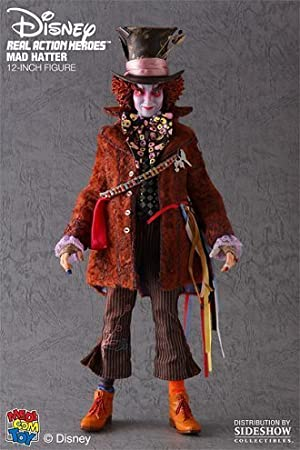 Hutmacher Johnny Depp Figur Von Alice Im Wunderland 16 Maßstab