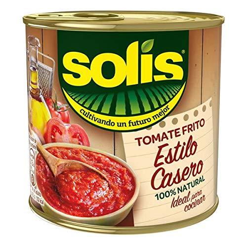 Solis Tomate Frito Estilo Casero Lata - Tomate Sin Gluten - Pack de 3 X 100 gr: Amazon.es: Alimentación y bebidas
