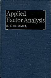 Applied factor analysis