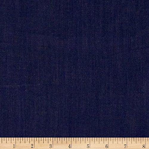 Fabric.COM Tencel Denim Indigo Fabric by The Yard