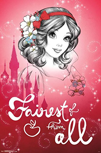 snow white fairest wall poster