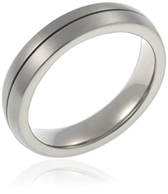 a5fee8989e CORE by Schumann Design Herren-Ring aus Titan ohne Stein Gr. 50 (15.9