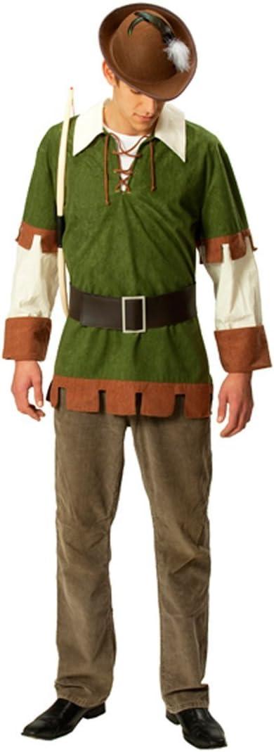 NET TOYS Traje de Robin Hood Disfraz Medieval ladrón: Amazon.es ...