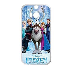 Happy Frozen fashion Cell Phone Case for HTC One M8