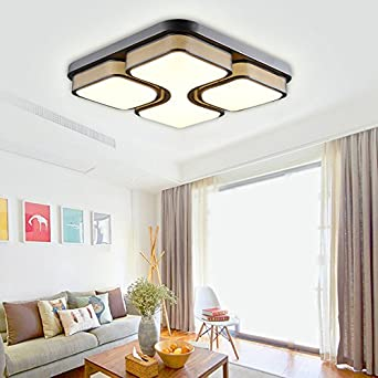 HGR 36W LED Deckenlampe Deckenleuchte Warmweiss Modern Wohnzimmer Leuchte Schlafzimmer Korridor