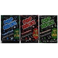 Surtido de POP ROCKS Candy 12 paquetes, cada paquete es de 0.33 oz (9.5 g)