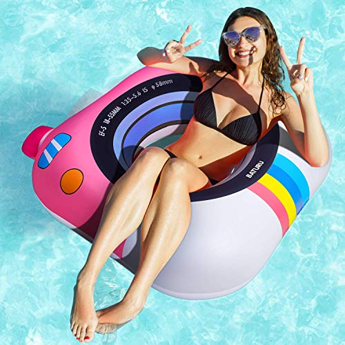 "Pool Floats for Adults Swimming Tube, 37"" Swim Ring Pool Float Toys for Adults/Teens/Kids for Summer Beach"