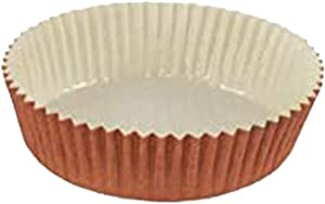 Optima Baking Mold, All Natural, Disposable, Recyclable, Microwave Oven Safe, Freezable, Best Paper Baking Mold For Baking Goods (3-1/2