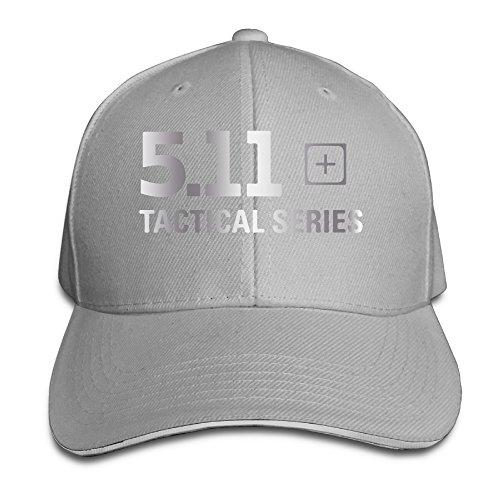 5.11 Tactical Logo Baseball Cap Sandwich Ash