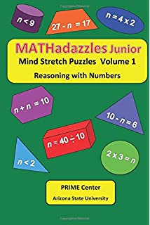 amazon mathadazzles junior volume 2 reasoning with numbers dr