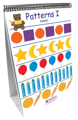 NewPath Learning Patterns and Sorting Curriculum Mastery Flip Chart Set, Early Childhood