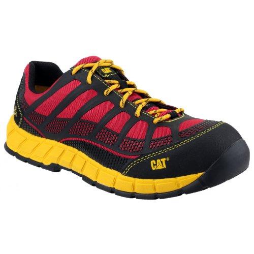 Caterpillar - Scarpe Sportive di Sicurezza - Uomo Rosso