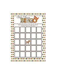 Woodland Animals Baby Shower Bingo Cards 20 Count BOBEBE Online Baby Store From New York to Miami and Los Angeles