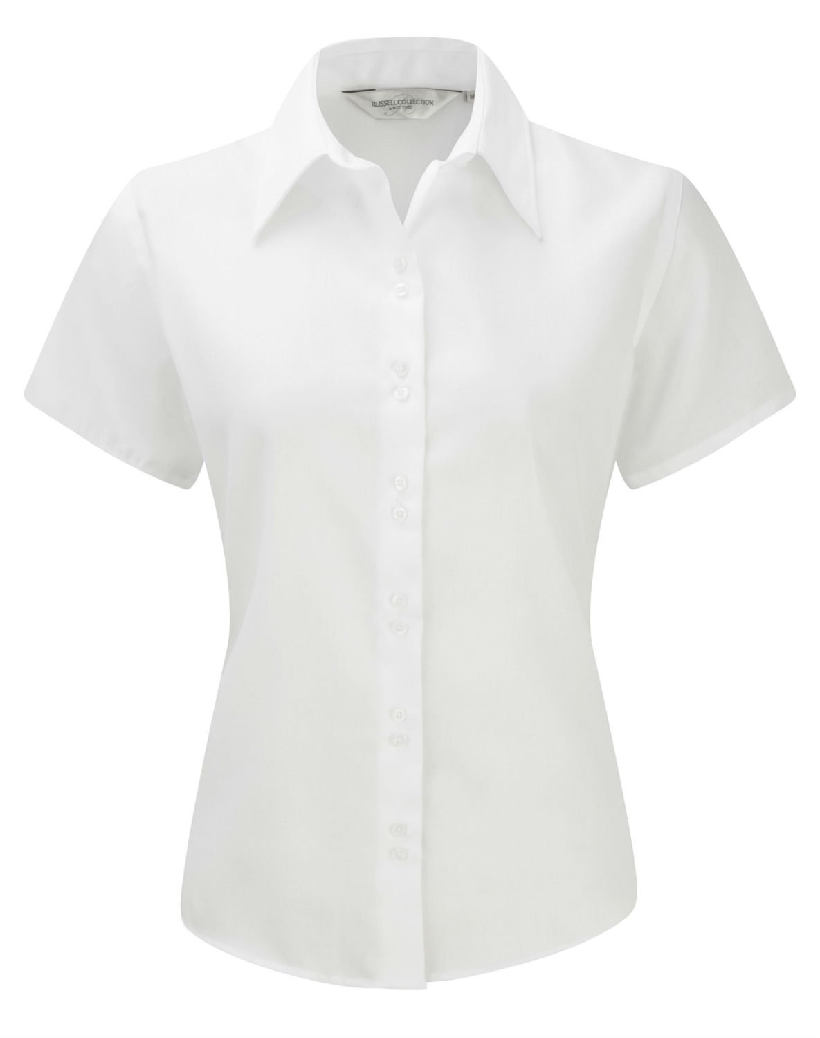Russell Ladies Short Sleeve Shirt Blus'Ultimate bügelfrei: Amazon.de:  Bekleidung
