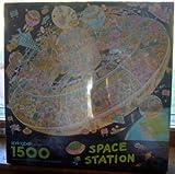 Space Station Springbok Puzzle 1500 Pieces Bob Martin by Springbok