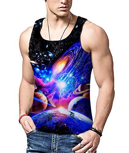 Mens Canotta shirt Novità T Casual Bfustyle Summer Vest Solar Printed System 3d Funny dhQxtsrC