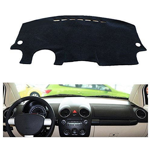 - FLY5D Dashboard Cover Dash Cover Mat Pad DashMat for 1998-2010 Volkswagen BEETLE (Volkswagen BEETLE Year 1998-2010, Black)