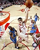 Yao Ming Houston Rockets NBA Action Photo (Size: 8