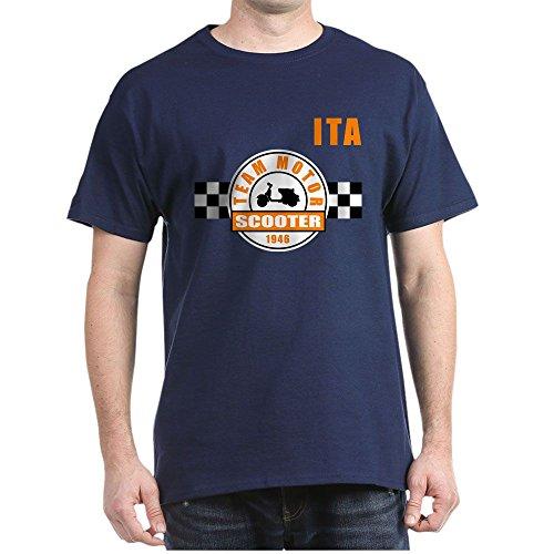 CafePress Vespa Team Piaggio - 100% Cotton T-Shirt