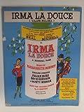 song sheet IRMA LA DOUCE Valse Milieu 1958