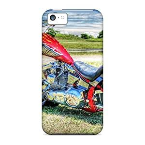 AnnetteL Iphone 5c Well-designed Hard Case Cover Bikers Bike Hdr Protector