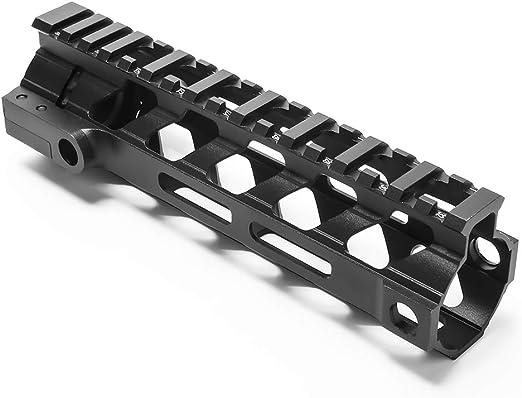 DETECH 7 9 12 15 Pouces Support de Fixation pour Rail Picatinny Ultra l/éger et l/éger M-Lok MLOK AR15 M4