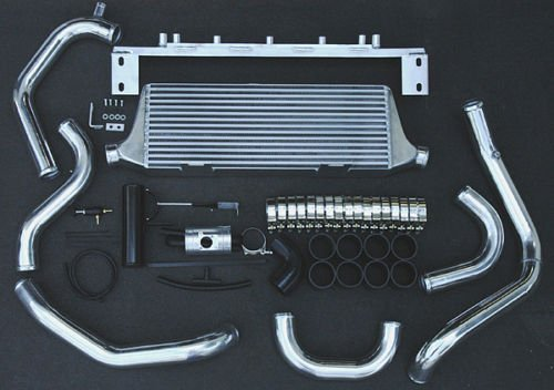 Wrx Intercooler - XS-Power Front Mount Intercooler+Piping Kit FOR 02-07 Subaru WRX STi FMIC