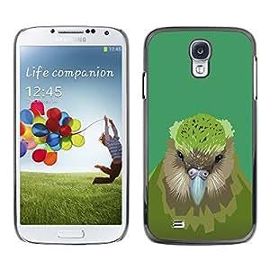 EJOY---Cubierta de la caja de protección la piel dura para el ** Samsung Galaxy S4 ** --Pájaro del kiwi
