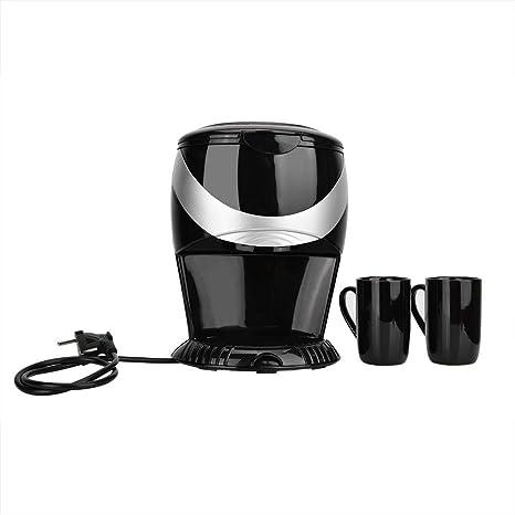 Focket Mini cafetera, 450W 220V 2 Tazas Máquina de café automática ...