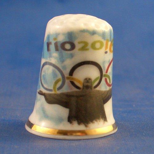 Rio Olympischen Spiele 2016 birchcroft Porzellan China Fingerhut Sammlerst/ück