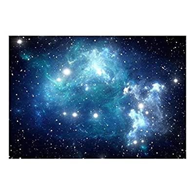 Pretty Work of Art, Classic Design, Shades of Blue Glaxy in a Sea of Stars Wall Mural