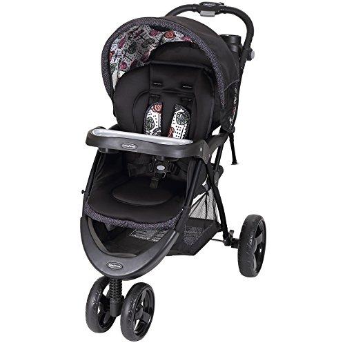 Baby Trend Tri-Flex Stroller, Floral Stem
