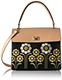 Orla Kiely Suede Embroidery Large Cicely