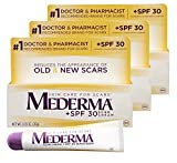 Mederma Skin Care Cream for Scars with Spf 30, .7 Oz. (Pack of 3)